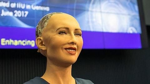 we have to live and work with the robot one day