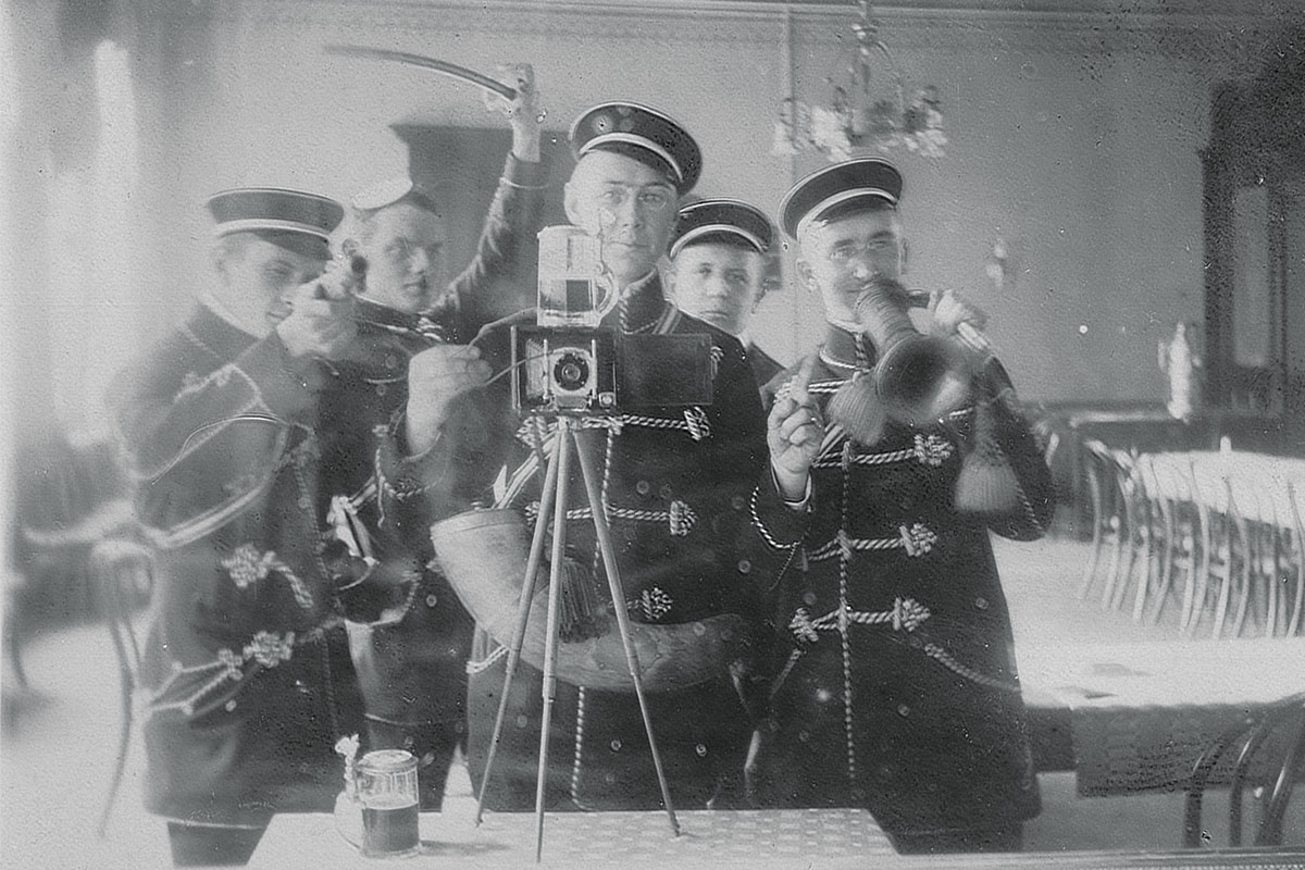 History of First ever selfie