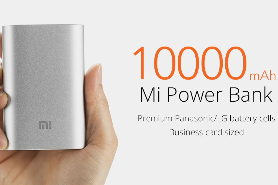 10,000 mAh Capacity Power Bank