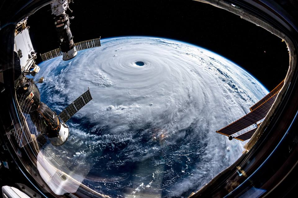 Photos of Category 5 Super Typhoon Trami heading for Japan and Taiwan