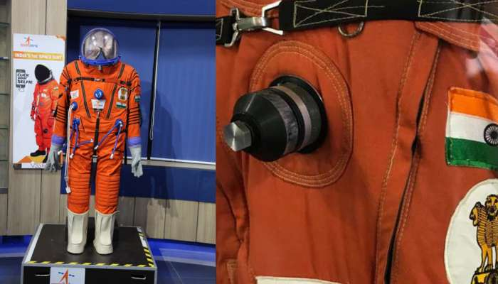 Isro displays space suit for 2022 manned space mission