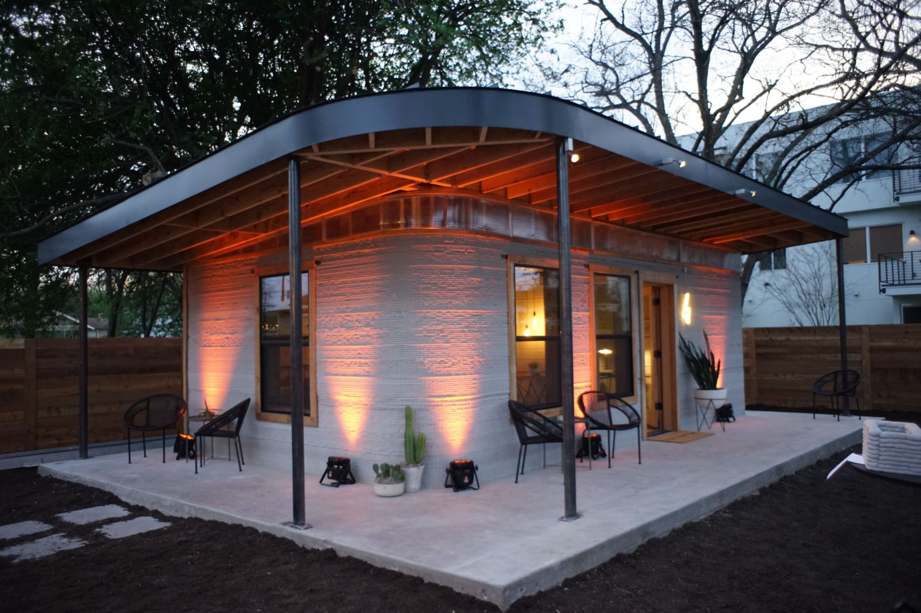 startup builds 3D printed house within a day