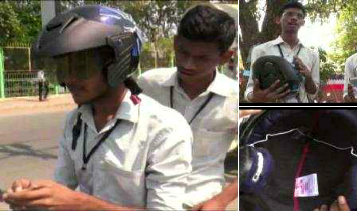 Kalaburagi students make Bluetooth-enabled route guiding helmet