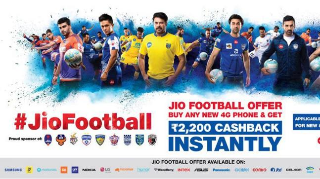 'Jio Football Offer' buyers can get Rs 2,200 cash back