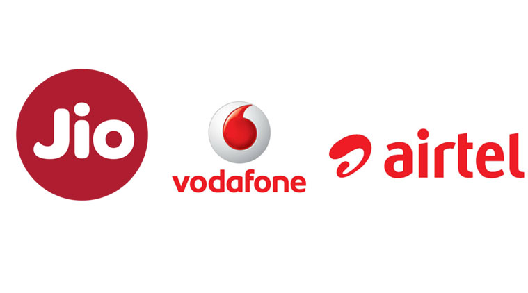 Best offers in Jio,Airtel and Vodafone