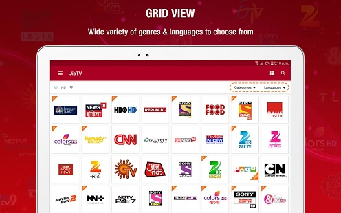 Jio offers 10GB free data, especially for Jio TV streaming